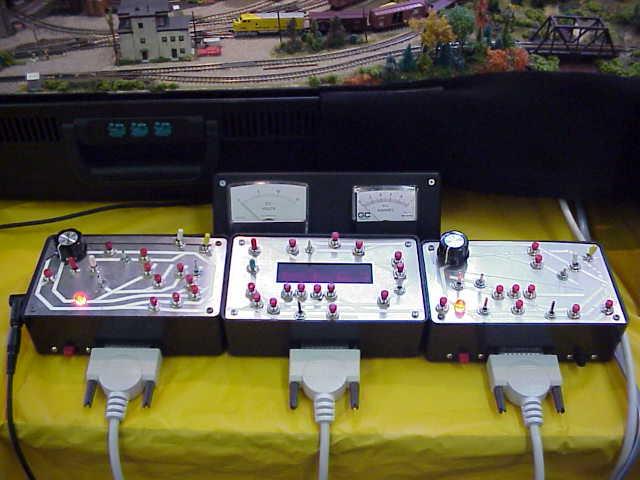 VECRR Controls, 8:1 digital fast clock + plug-in meters